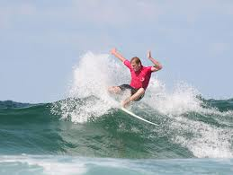 surfing image of paul