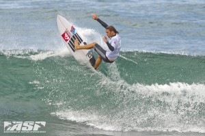 Jesse ripping today at Breaka Pro